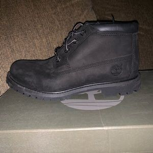 Women's black timberland waterproof boots